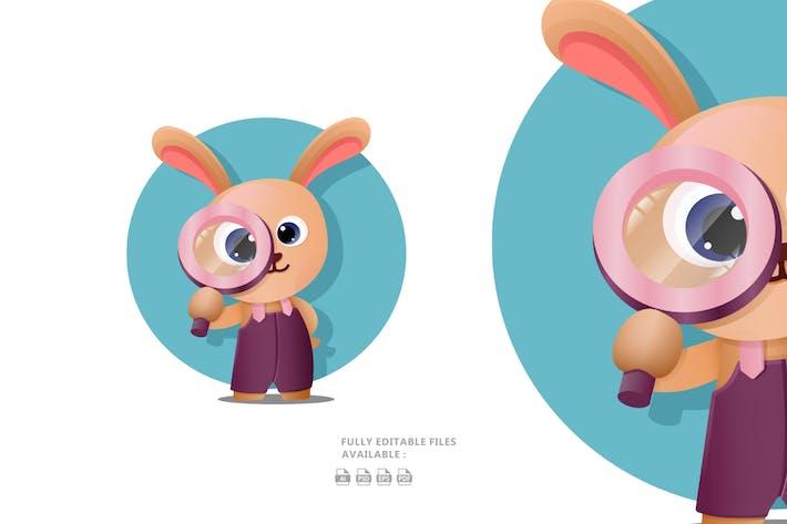 Thumbnail for Cute Cartoon Bunny Illustration