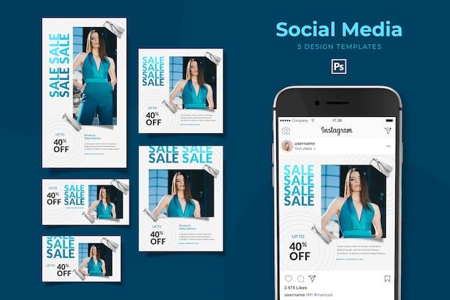 Fashion Sale Social Media Pack