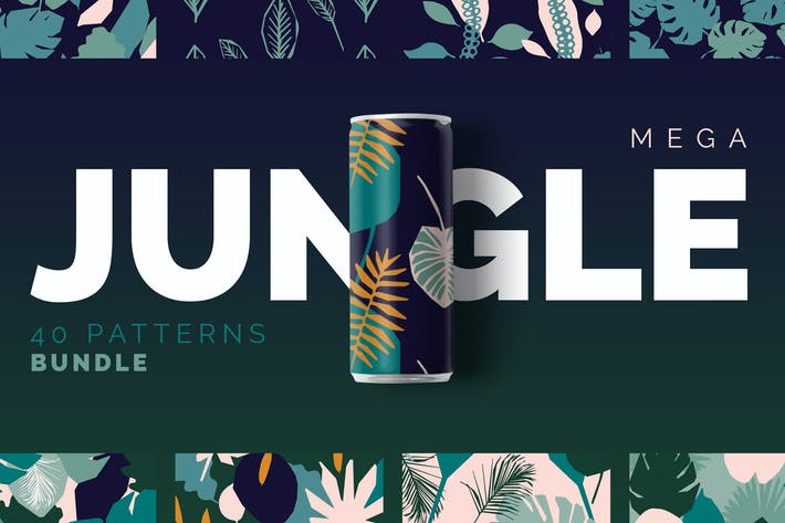 Thumbnail for Jungle Patterns Collection