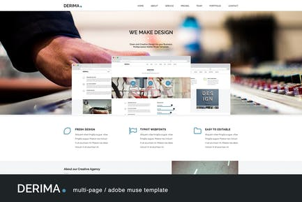 Derima - Multi-Purpose Muse Template