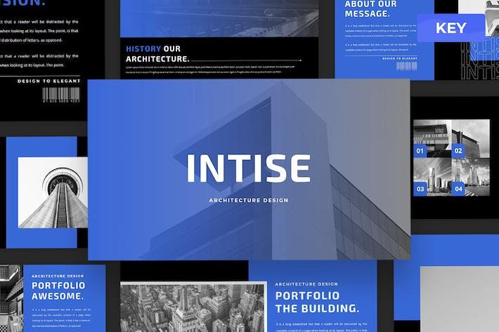 Intise - Keynote Presentation Template
