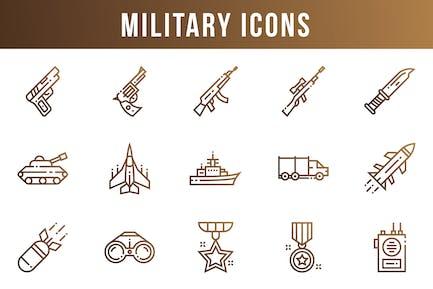 Militärische Icons