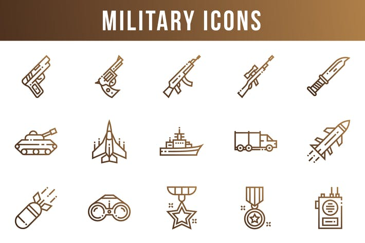 Thumbnail for Military Icons