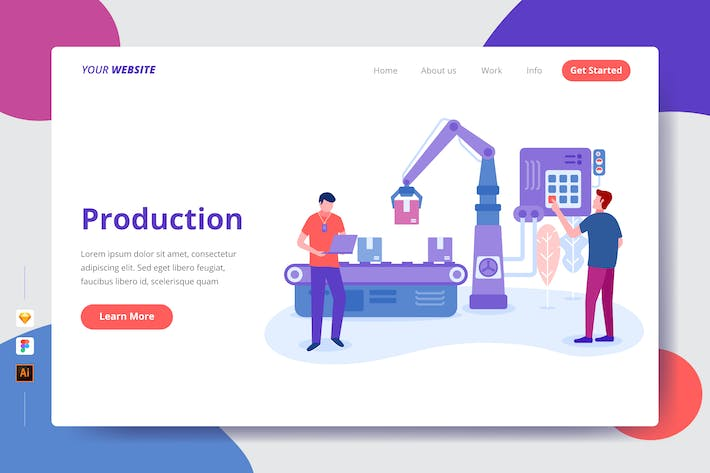 Thumbnail for Production - Landing Page