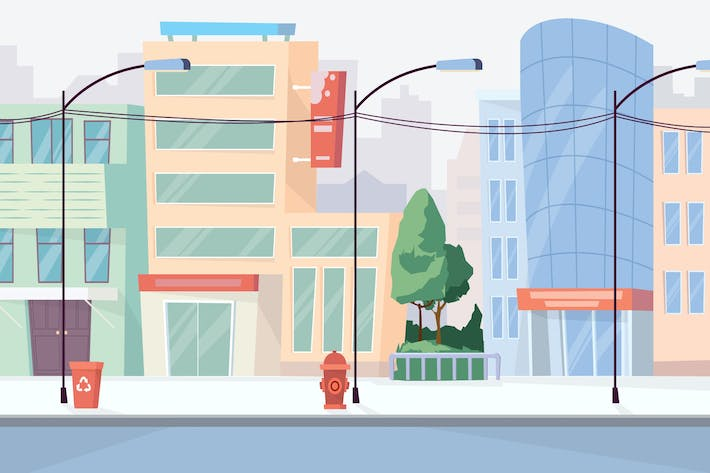 Thumbnail for City - Illustration Background