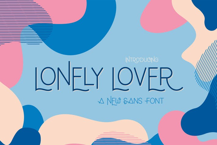 Thumbnail for Lonely Lover Font