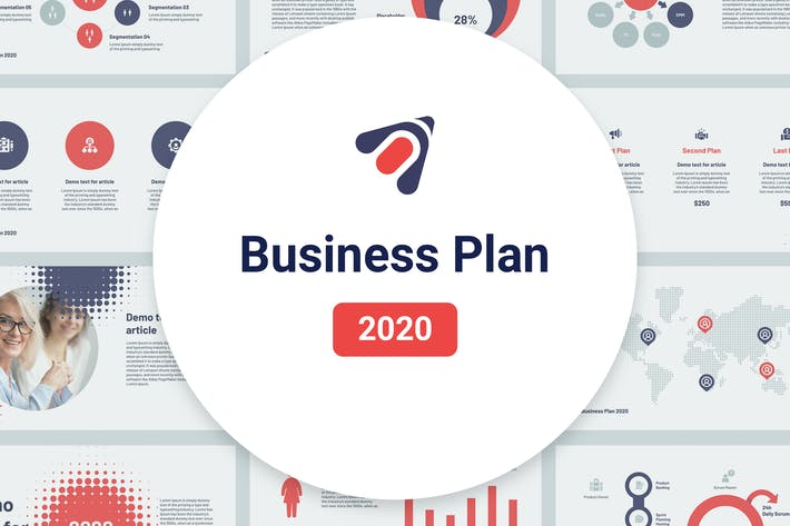 Thumbnail for Business Plan 2020 for Keynote