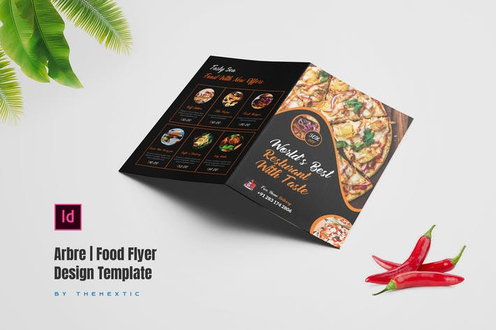 Thumbnail for Arbre | Food Flyer Design Template