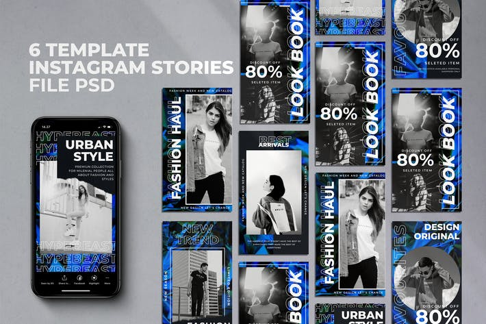 Thumbnail for Neon Instagran stories