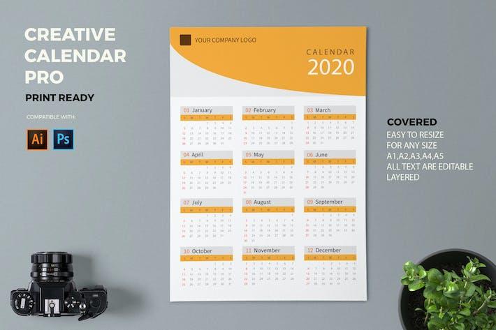 Thumbnail for Creative Calendar Pro 2020
