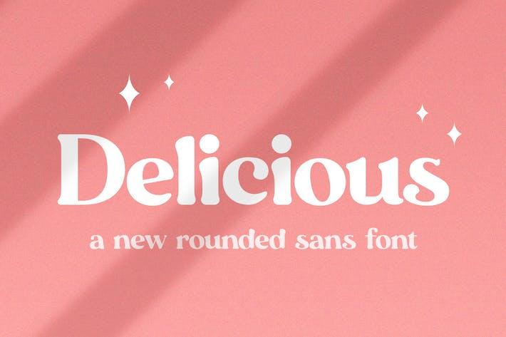 Thumbnail for Fuente Delicious Sans