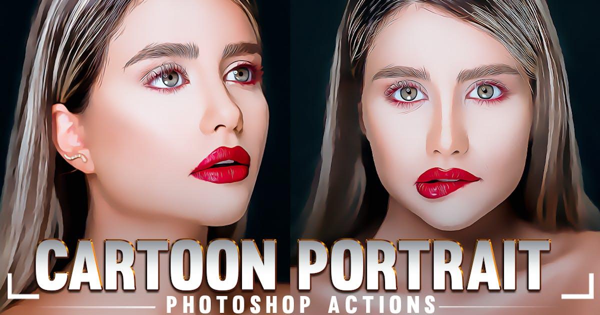 Download Cartoon Portrait Photoshop Action by 2lagus