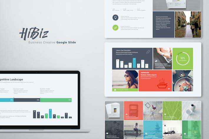 Thumbnail for HiBiz Google Slide Template