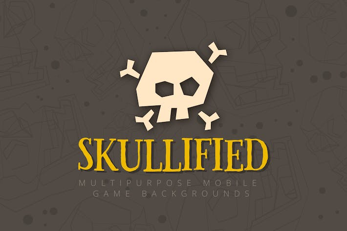 Thumbnail for Skullified: Multipurpose Mobile Game Backgrounds