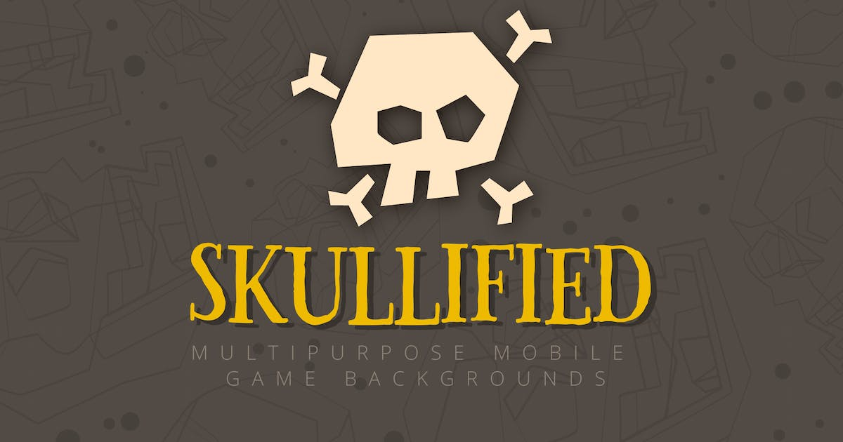 Skullified: Multipurpose Mobile Game Backgrounds by jcroxas