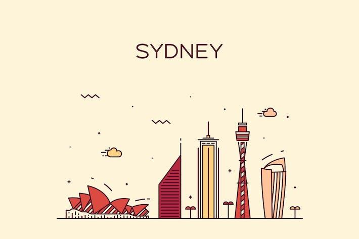 Thumbnail for Sydney skyline, Australia