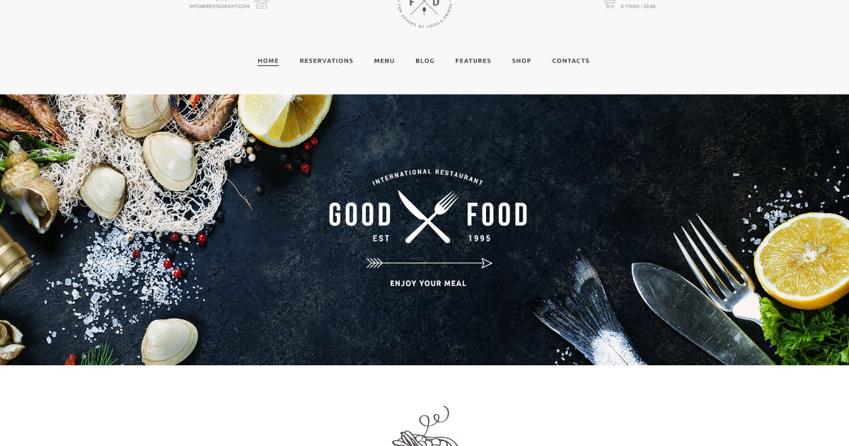 Download Food & Drink - An Elegant Cafe & Restaurant WP by axiomthemes