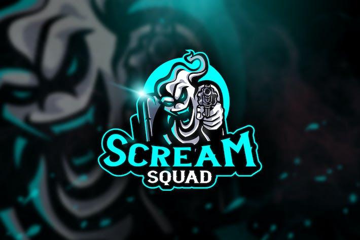 Thumbnail for Scream Squad - Mascot & Esport Logo
