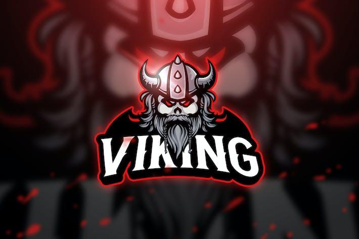 Thumbnail for Viking - Mascot & Esport Logo