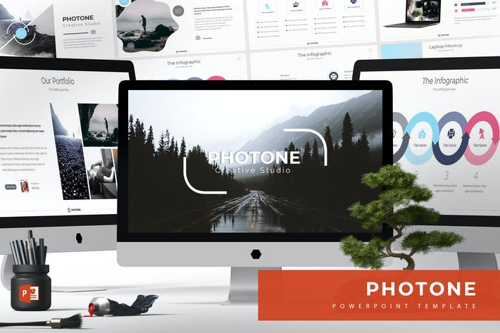 Thumbnail for Photone - Powerpoint Templates