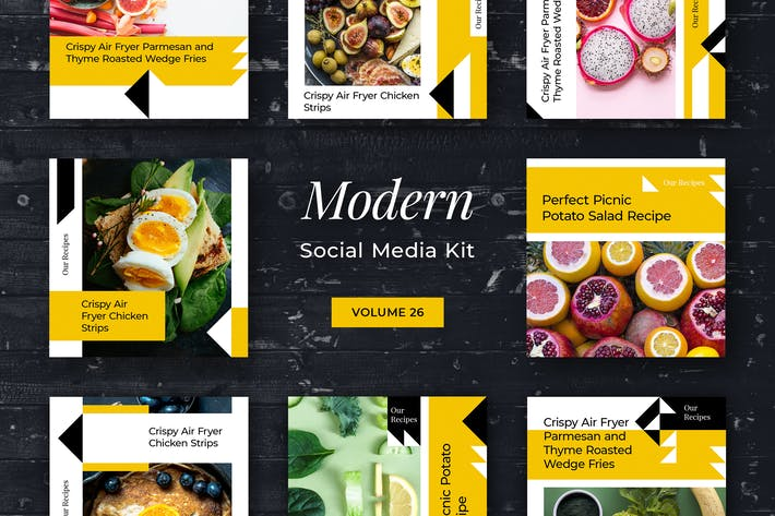 Thumbnail for Modern Social Media Kit (Vol. 26)