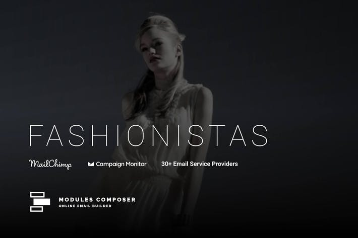 Fashionistas - Responsive Email Template