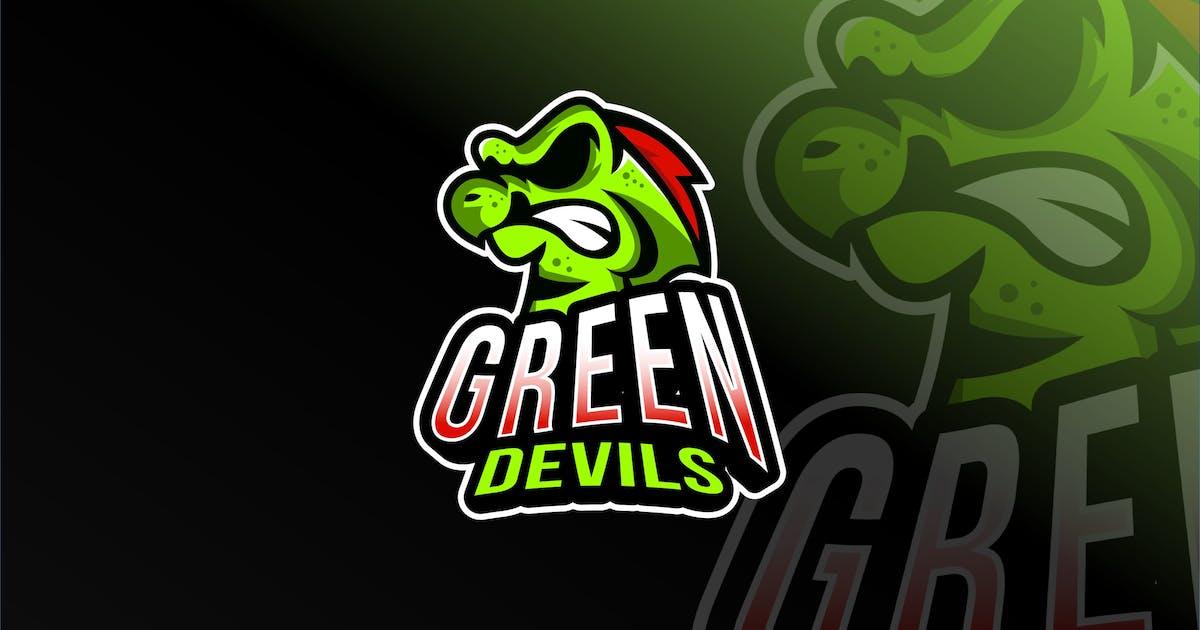 Download Green Devils Esport Logo Template by IanMikraz
