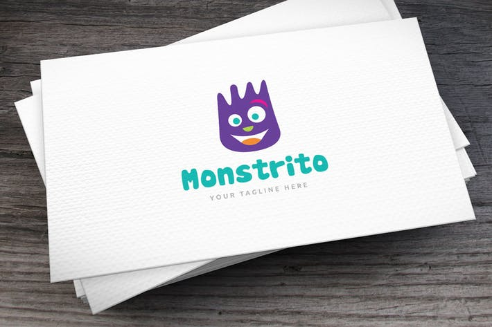 Thumbnail for Monstrito Logo Template