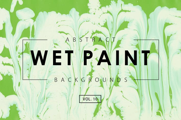 Thumbnail for Wet Paint Backgrounds Vol. 10