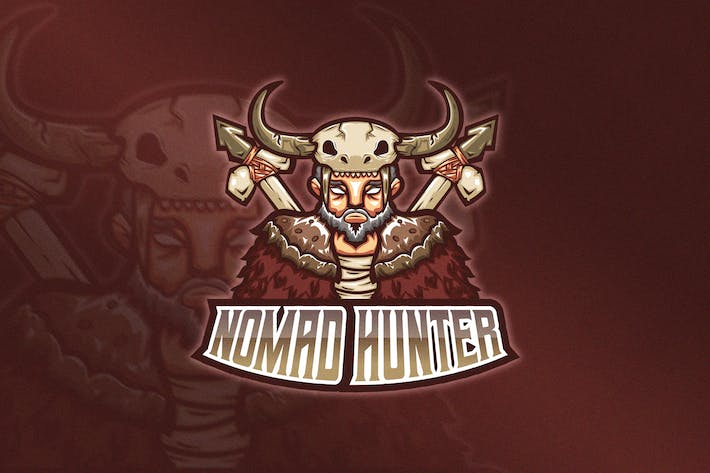 Thumbnail for Oldman Mascot & Esport Logo V5 - Tribal Chief
