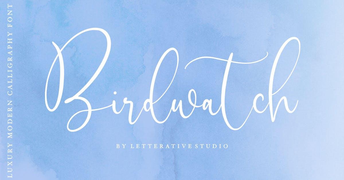 Download Birdwatch Script Font YH by GranzCreative