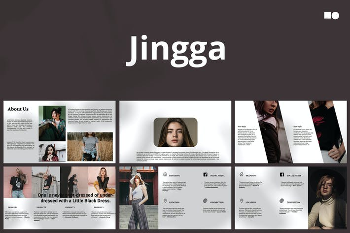 Thumbnail for Jingga - Powerpoint Template
