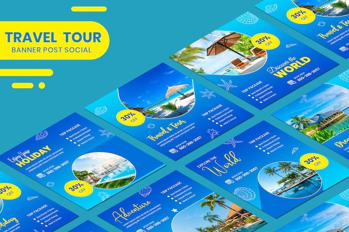 Travel Banner Vorlage