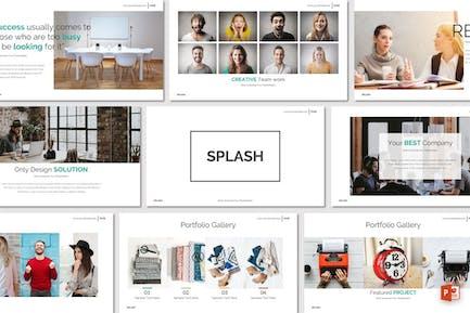 SPLASH - Powerpoint-Vorlage