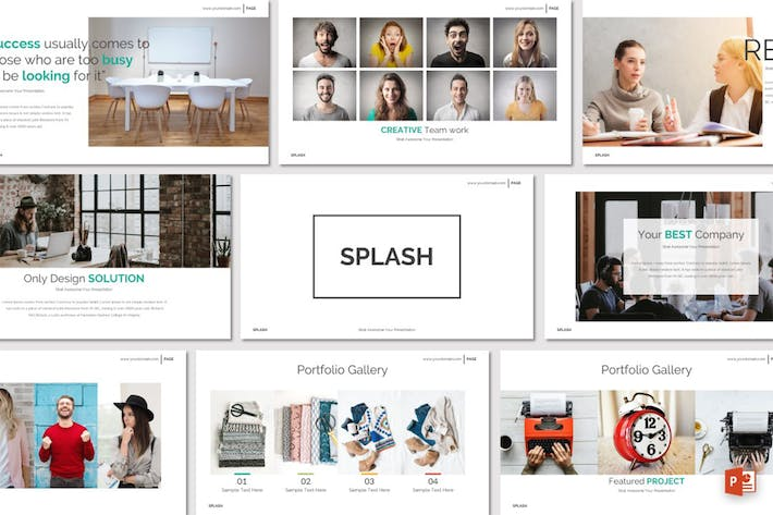 Thumbnail for SPLASH - Powerpoint Template
