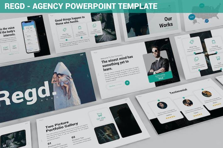 Thumbnail for Regd - Agency Powerpoint Template