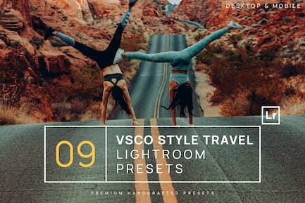 9 Пресеты VSCO Style Travel Lighroom + Мобильный