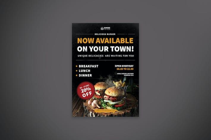 Thumbnail for Restaurant & Cafe Promo Flyer
