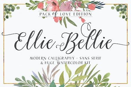 Ellie Bellie Font Duo