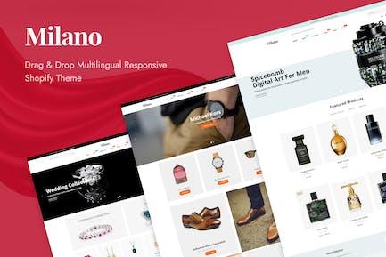 Milano Fashion Responsive Shopify Theme