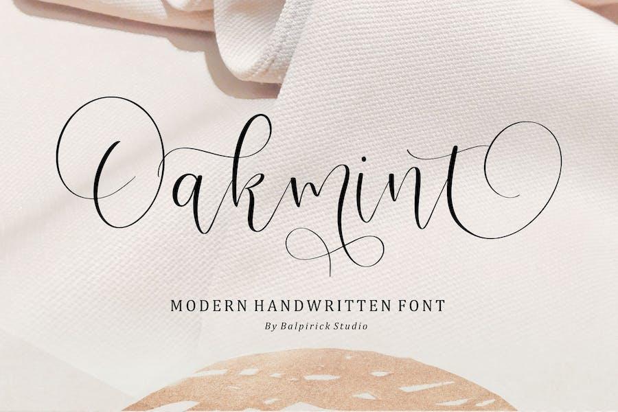 Oakmint Script Fuente YH
