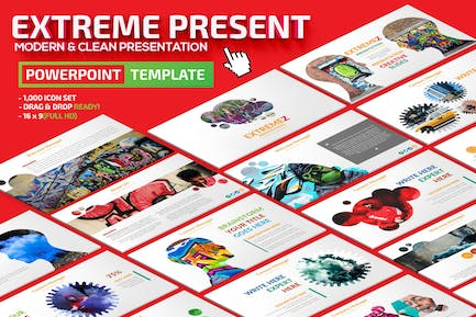 Extreme Powerpoint Presentation Template