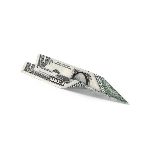 Cover Image for 1 Dollar Bill Paper Airplane