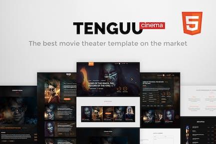 Tenguu Cinema - Movie Theater HTML Template