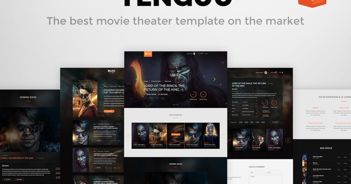 Download Tenguu Cinema - Movie Theater HTML Template by themeton