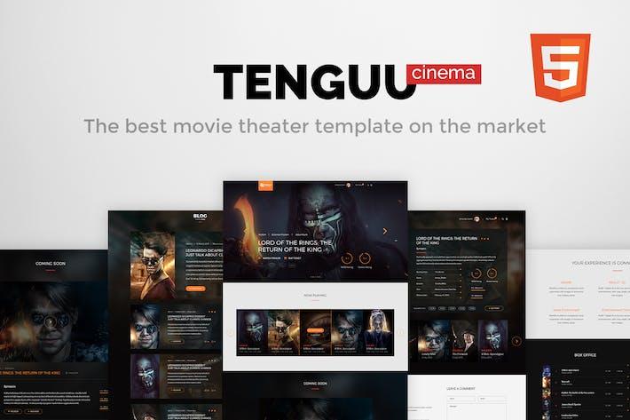 Tenguu Cinema Movie Theater Html Template By Themeton On Envato