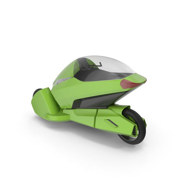 Thumbnail for Concept Motor Cycle Green