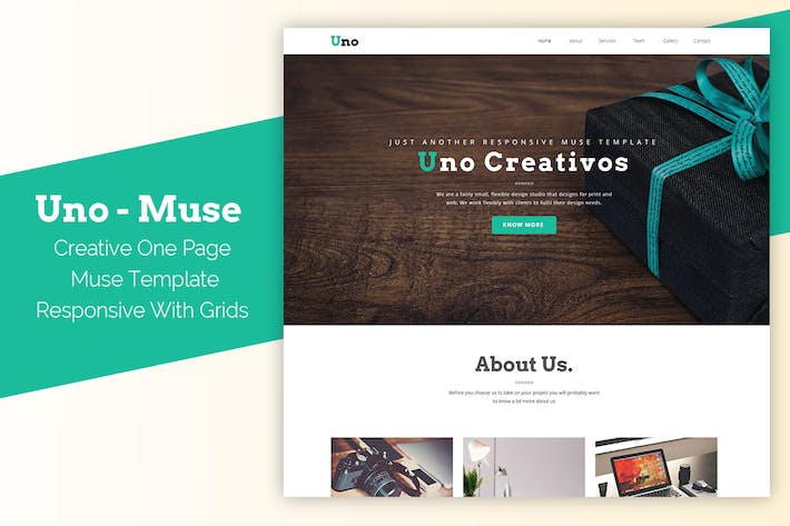 Muse Master Envato Elements