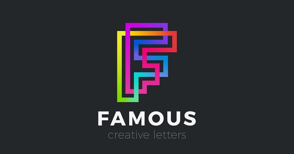 Download Letter F Logo design Linear Infinite by Sentavio