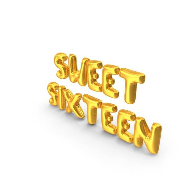 Sweet Sixteen Balloons